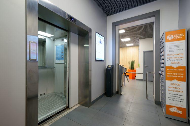 Лифт в БЦ